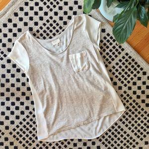 LOU & GREY short sleeve top - t-shirt - XS